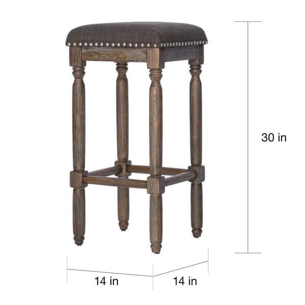 Super Shop Gracewood Hollow Renate Grey Bar Stools Set Of 2 Customarchery Wood Chair Design Ideas Customarcherynet