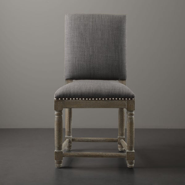 grey dining chairs with ring on back fabric white legs set