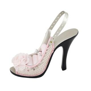 Jacki Design Pretty Princess Shoe Ring and Earring Holder