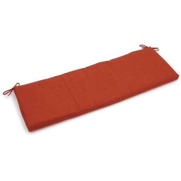Blazing Needles All-Weather 60-inch Bench Cushion