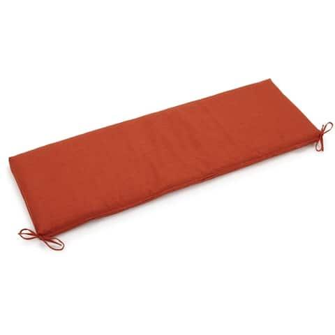 Blazing Needles 60-inch Indoor/Outdoor Bench Cushion