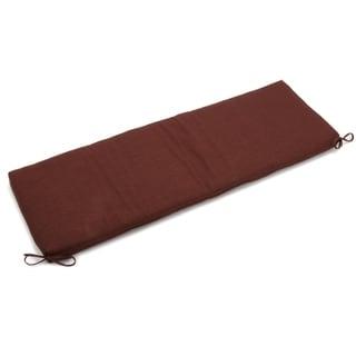 Blazing Needles 60-inch Indoor/Outdoor Bench Cushion (Cocoa)