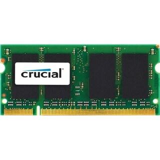 Crucial 4GB, 204-pin SODIMM, DDR3 PC3-10600 memory module