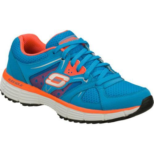 Women's Skechers Agility New Vision Blue/Coral