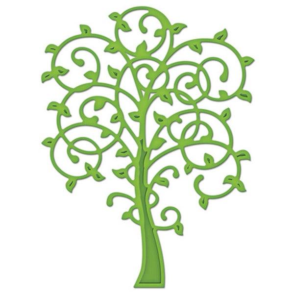 Spellbinders Die D-Lites Whimsical Tree