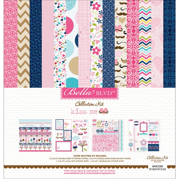 "BELLA BLVD Kiss Me Collection Kit (12"" x 12"")"