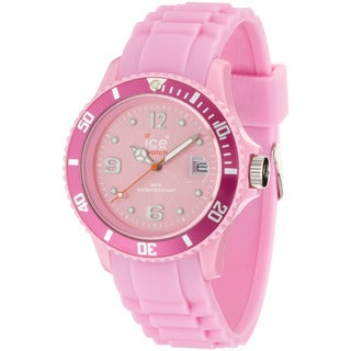 Ice-Watch Women's Sili Collection Pink Silicone Strap Watch