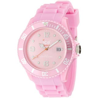 Ice-Watch Men's Sili Collection Pink Silicone Strap Watch|https://ak1.ostkcdn.com/images/products/7659737/P15073393.jpg?impolicy=medium