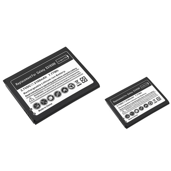 INSTEN Compatible Li-ion Battery for Samsung Galaxy S III/ S3 (Pack of 2)