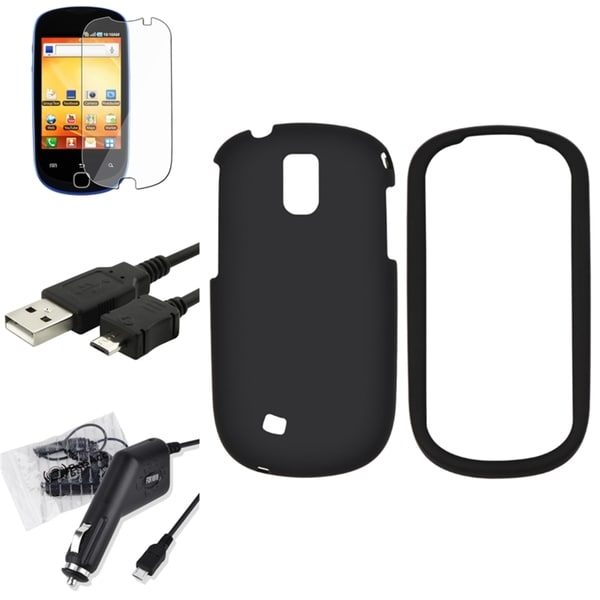 BasAcc Case/ Screen Protector/ Charger for Samsung Gravity Smart