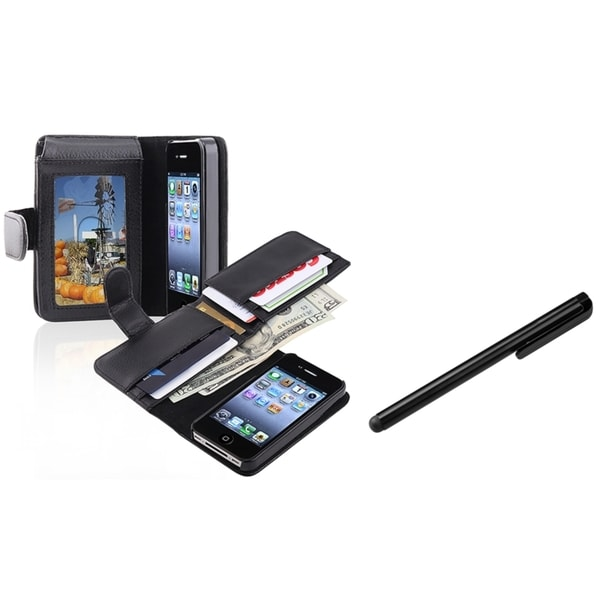 new concept 6b496 d5052 Shop INSTEN Phone Case Cover with Card Holder/ Stylus for Apple ...