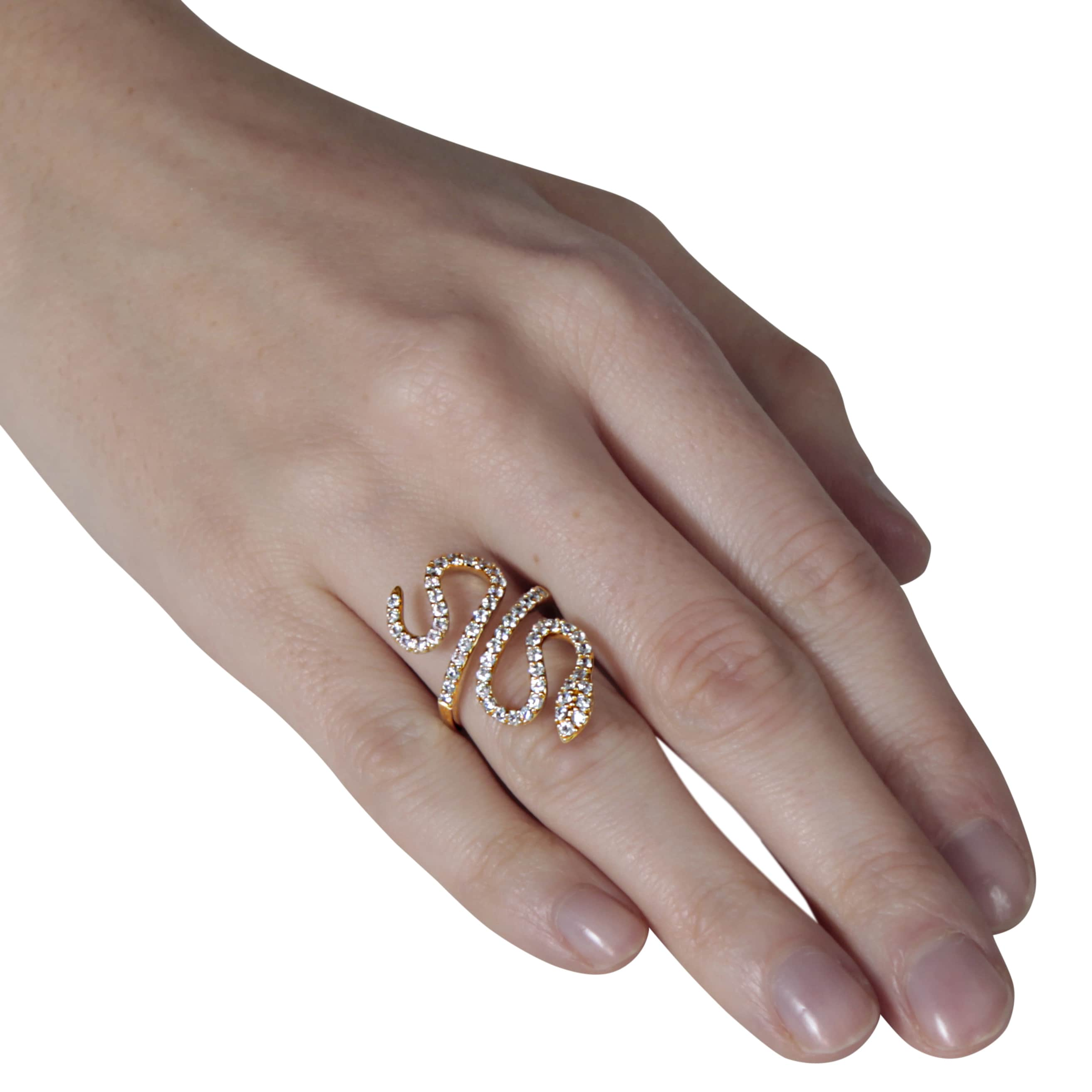 zoom jewelry snake serpent ring il fullxfull listing brass rings