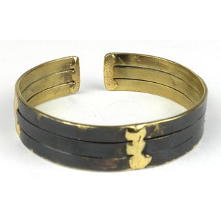 Handmade Brass Struts Cuff (South Africa)