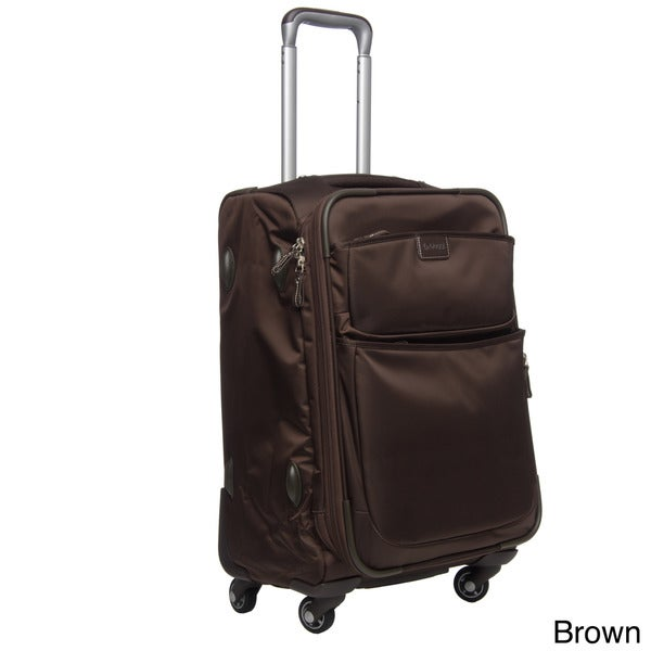 Biaggi 'Contempo Collection' 22-inch Foldable Expandable Carry On Spinner Upright