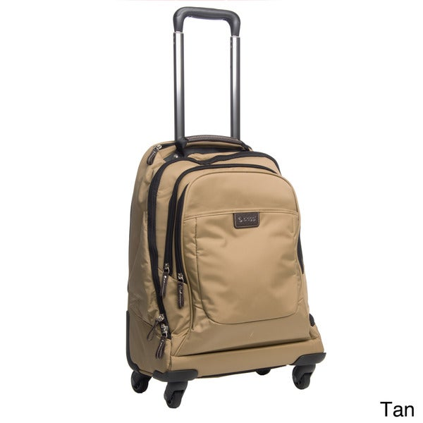 Biaggi 'Contempo Collection' 210821 21-inch Foldable Spinner Upright Laptop Backpack