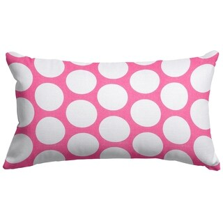 Large Polka Dot Small Pillow (4 options available)