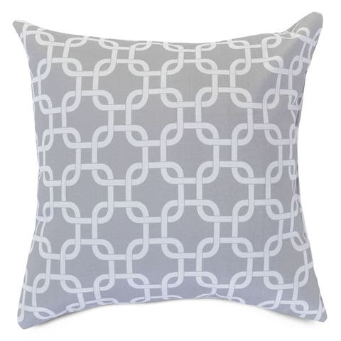 """Majestic Home Goods Links Indoor / Outdoor Large Pillow 20"""" L x 8"""" W x 20"""" H"""