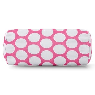 Large Polka Dot Round Bolster Pillow (4 options available)