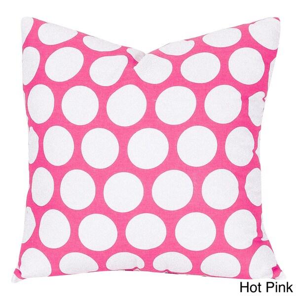 Large Polka Dot Large Pillow