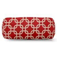 Indoor/Outdoor Links Round Bolster Pillow