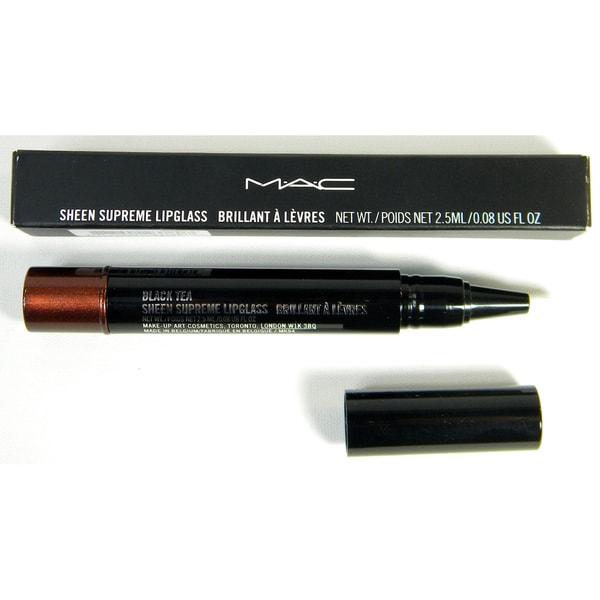 MAC Sheen Supreme Lipglass 'Black Tea' Lipgloss