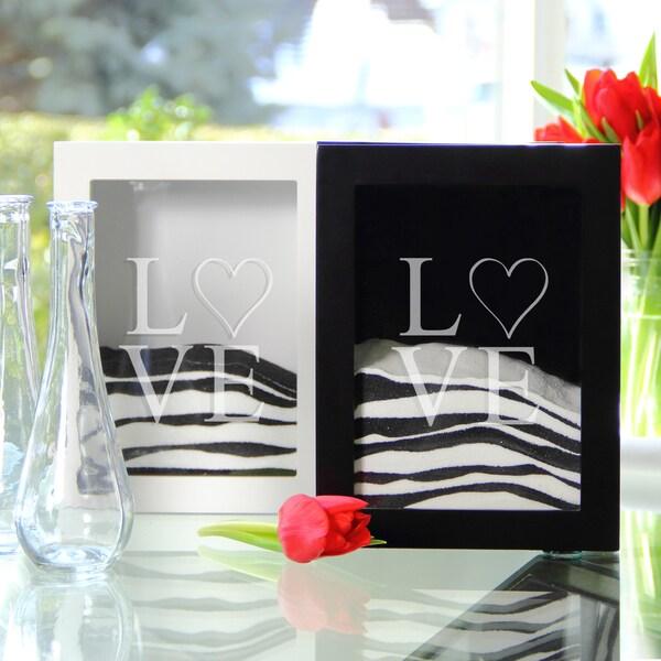 Modern Love Sand Ceremony Shadow Box Set