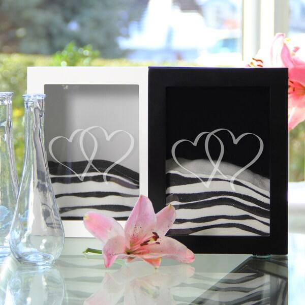 Two Hearts Sand Ceremony Shadow Box Set