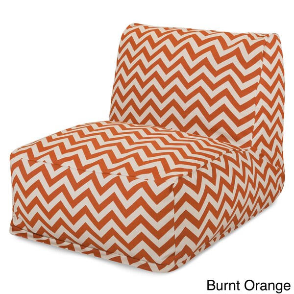 Indoor Outdoor Zig Zag Bean Bag Chair Lounger