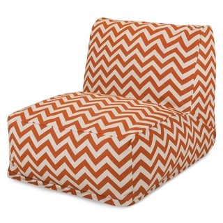 Indoor/Outdoor Zig Zag Bean Bag Chair Lounger