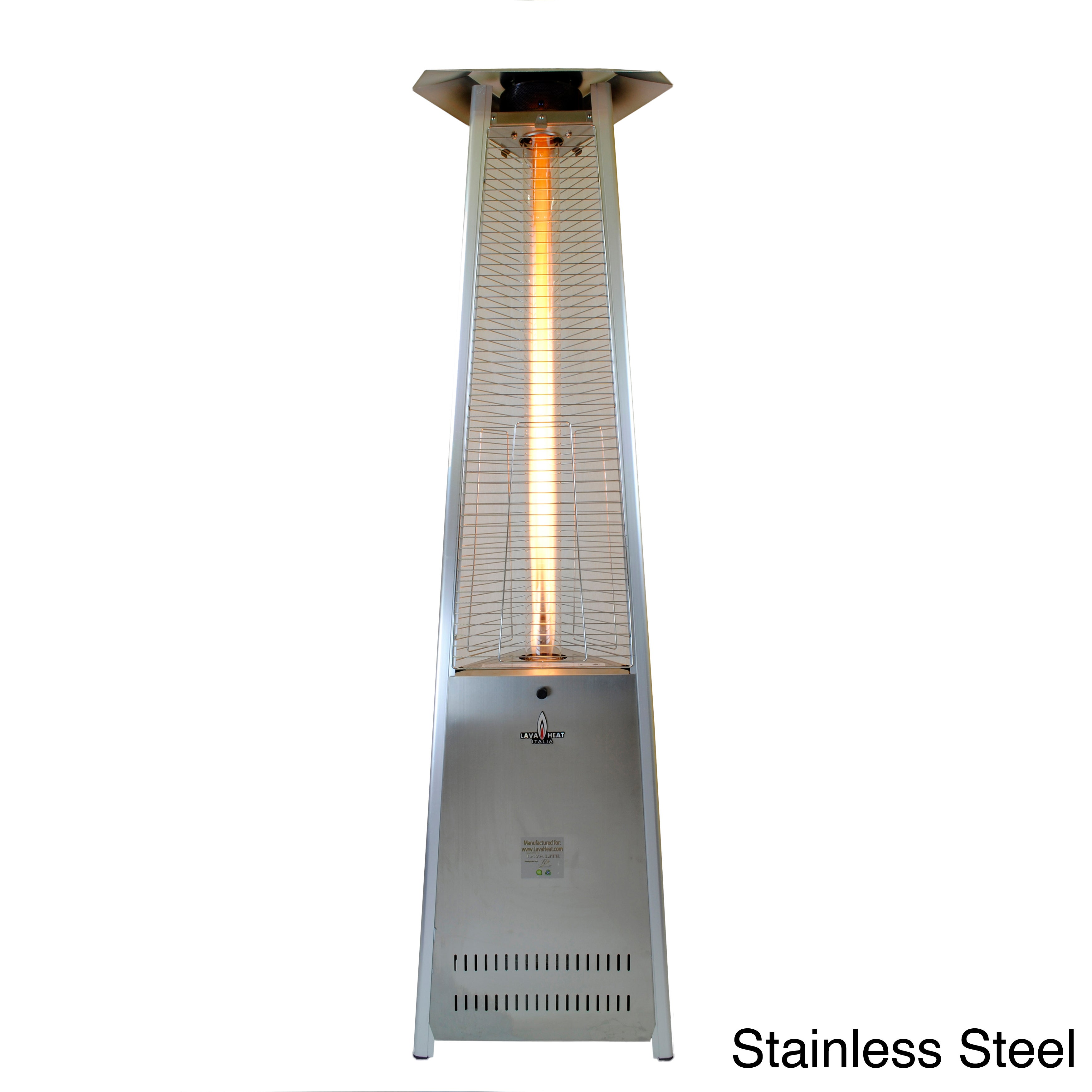 Lava Heat Triangular 8 ft. Commercial Flame Patio Heater ...