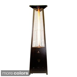 Triangular 8 ft. Commercial Flame Patio Heater Assembled (Non-Remote)