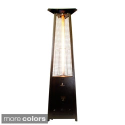 Brand: Lava Heat · Triangular 8 Ft. Commercial Flame Patio Heater Assembled  (Non Remote)