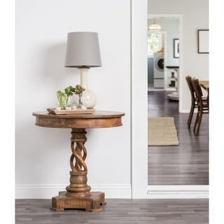 Bella Hand Crafted Solid Wood Side Table by Kosas Home