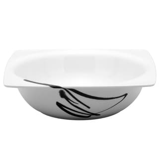 Red Vanilla Paint it Black 8.25-inch Salad Bowl (Set of 2)