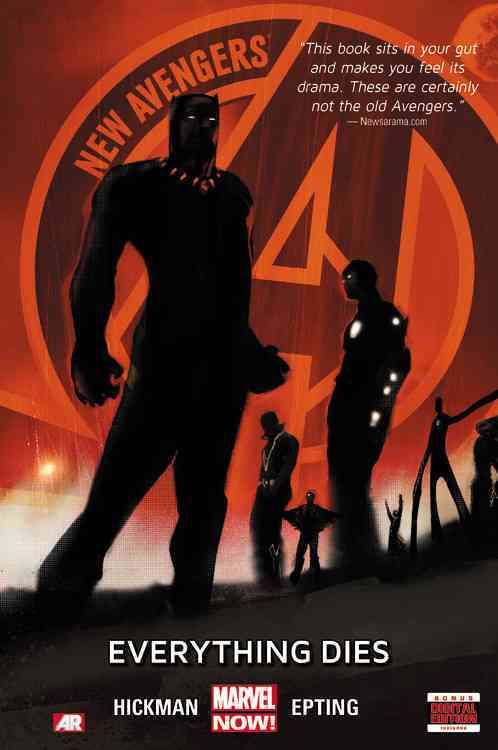 New Avengers 1: Everything Dies Marvel Now (Hardcover)
