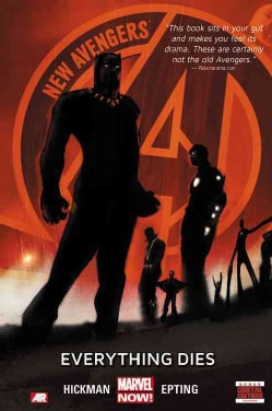 New Avengers 1: Everything Dies Marvel Now (Hardcover)