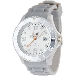 Ice-Watch Men's Sili Collection Silver Silicone Strap Watch|https://ak1.ostkcdn.com/images/products/7662090/7662090/Ice-Watch-Mens-Sili-Collection-Silver-Silicone-Strap-Watch-P15075305.jpg?impolicy=medium