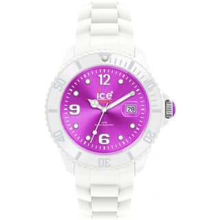 Ice-Watch Men's White/ Purple Silicone Strap Watch|https://ak1.ostkcdn.com/images/products/7662258/P15075421.jpg?impolicy=medium