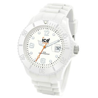 Ice-Watch Men's Sili Collection White Silicone Watch|https://ak1.ostkcdn.com/images/products/7662268/P15075432.jpg?_ostk_perf_=percv&impolicy=medium