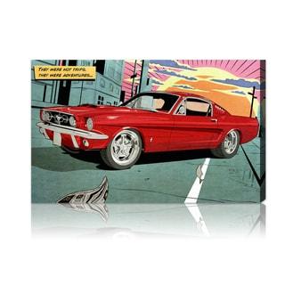 Oliver Gal 'Adventures' Canvas Wall Decor