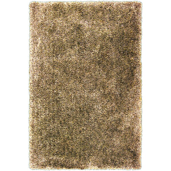 Hand-tufted Alburgh Gold Soft Plush Shag Rug (5' x 7'6)