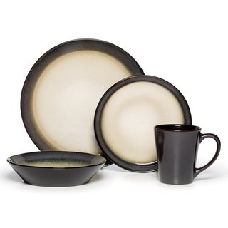 Pfaltzgraff Everyday Aria Grey 16-piece Dinnerware Set