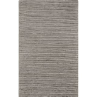 Hand-crafted Beige Solid Casual Coventry Rug (8' x 11')