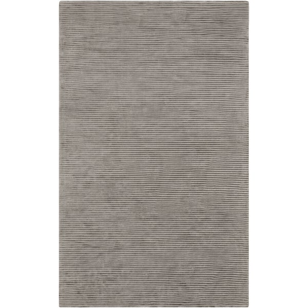 Hand-crafted Beige Solid Casual Coventry Area Rug - 8' x 11'