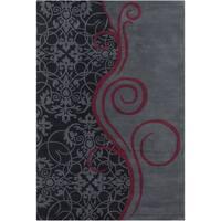Allie Handmade Wool Rug - 5' x 7'6