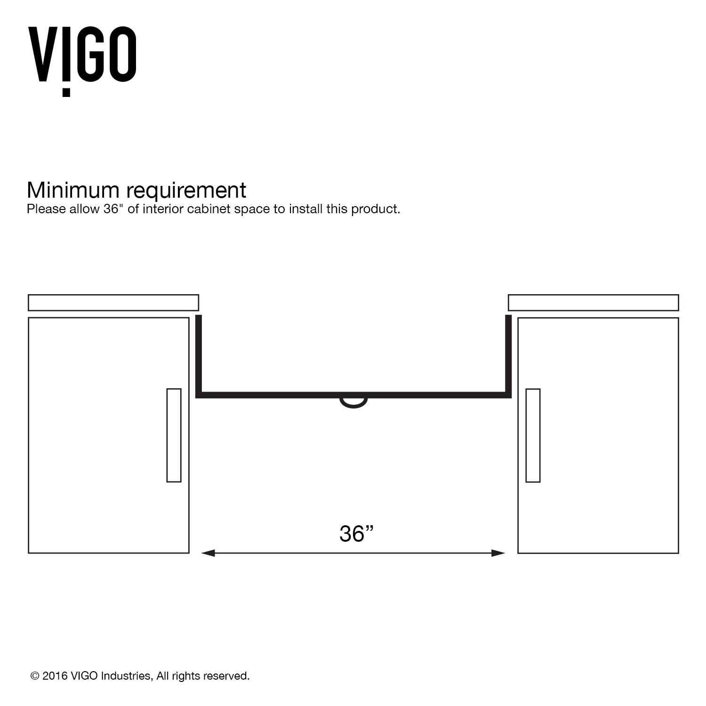 Vigo Bedford 36 Inch Farmhouse Kitchen Sink Grid And Strainer Overstock 7662534