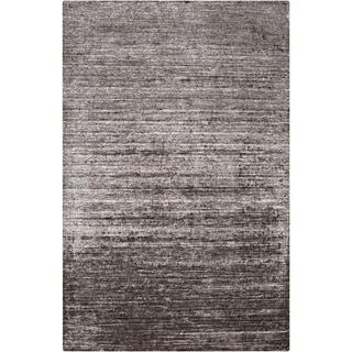 Hand-woven Solid Grey Casual Marlboro Rug (3'6 x 5'6)