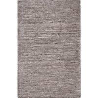 Hand-woven Solid Grey Casual Marlboro Area Rug - 3'6 x 5'6