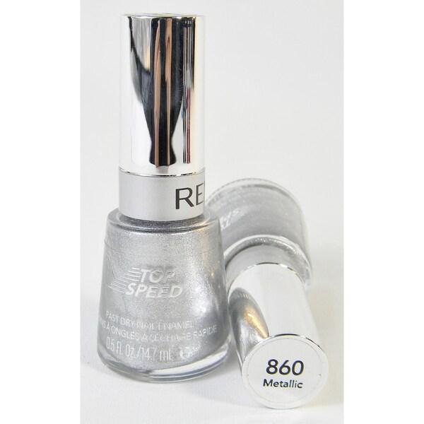 Revlon Top Speed #860 Metallic Nail Enamel (Pack of 2)