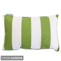 Indoor/Outdoor Majestic Home Goods Vertical Stripe Small Pillow